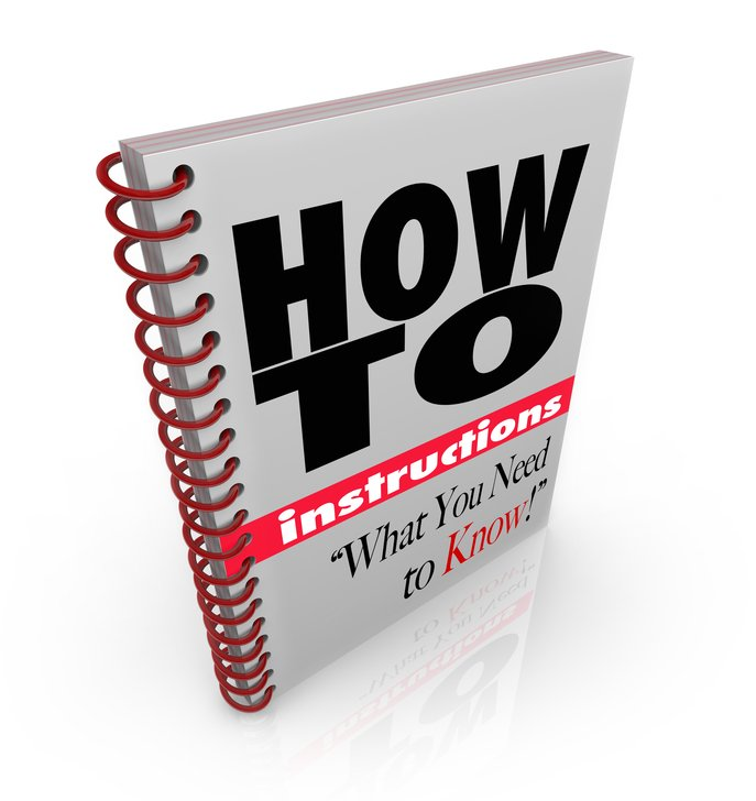 Instruction Book How To Do it Yourself Manual