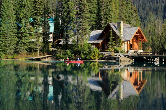 British Columbia Emerald lake