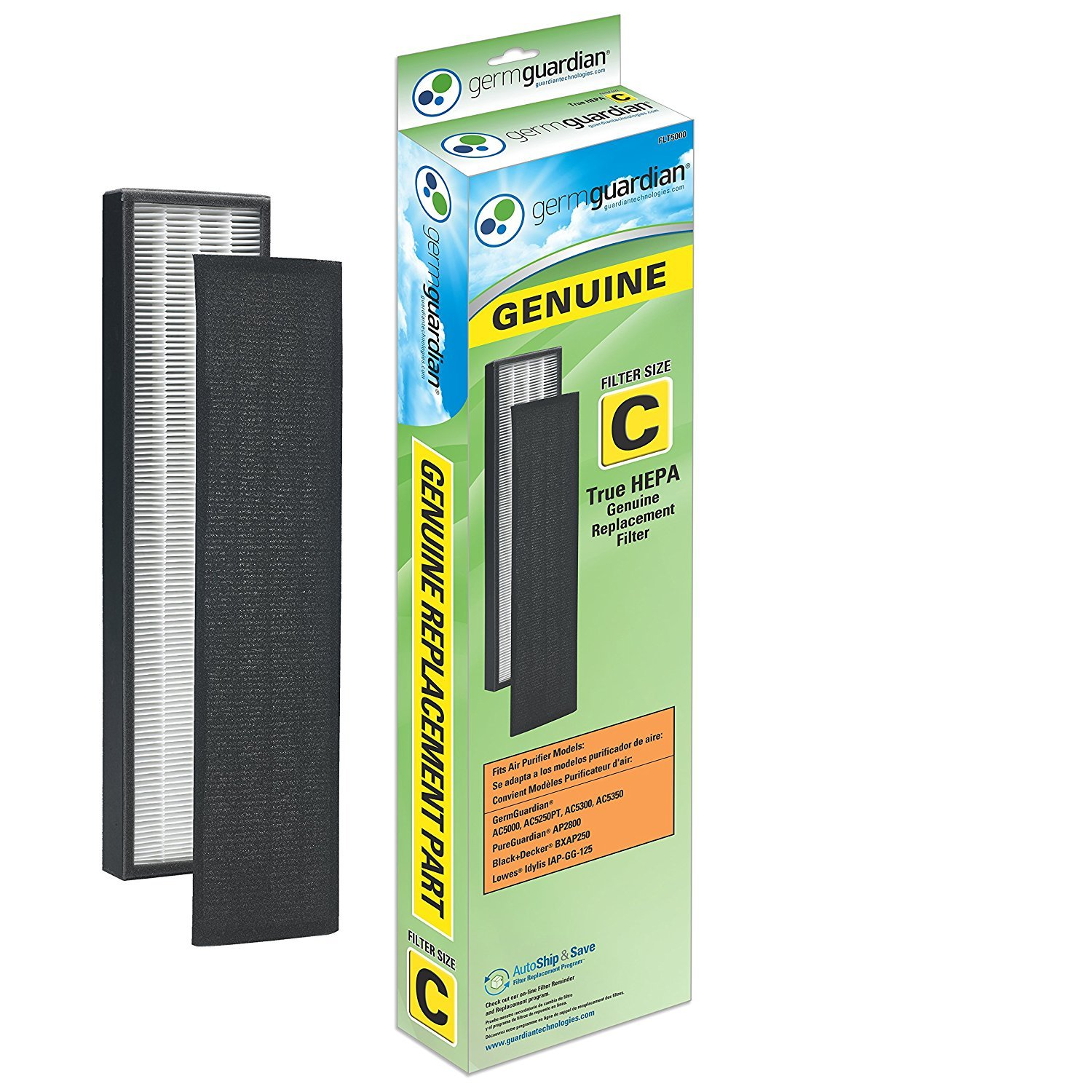 GermGuardian AC5000E Filter