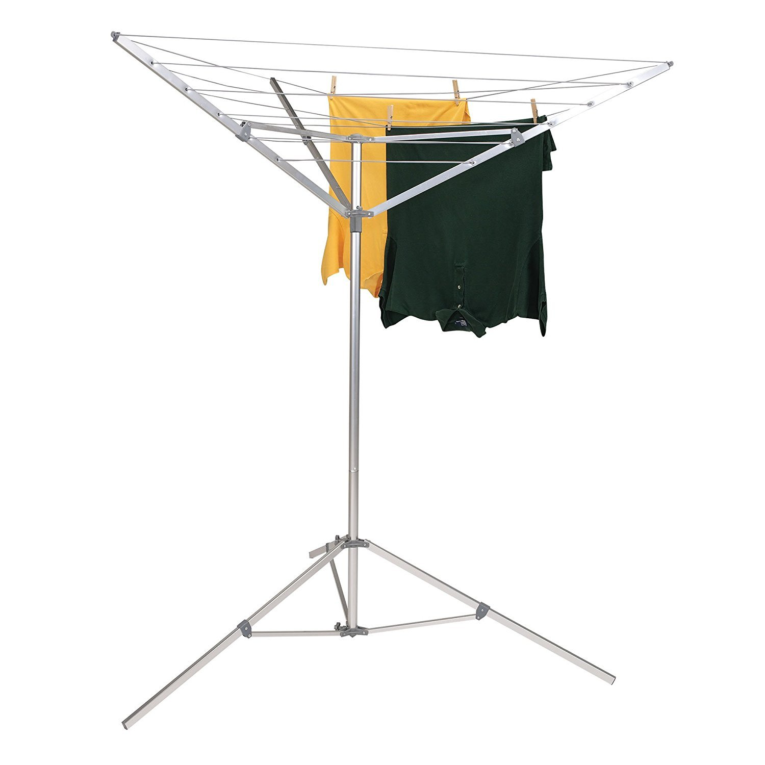 Household Essentials P1900 Portable Umbrella Clothesline Dryer