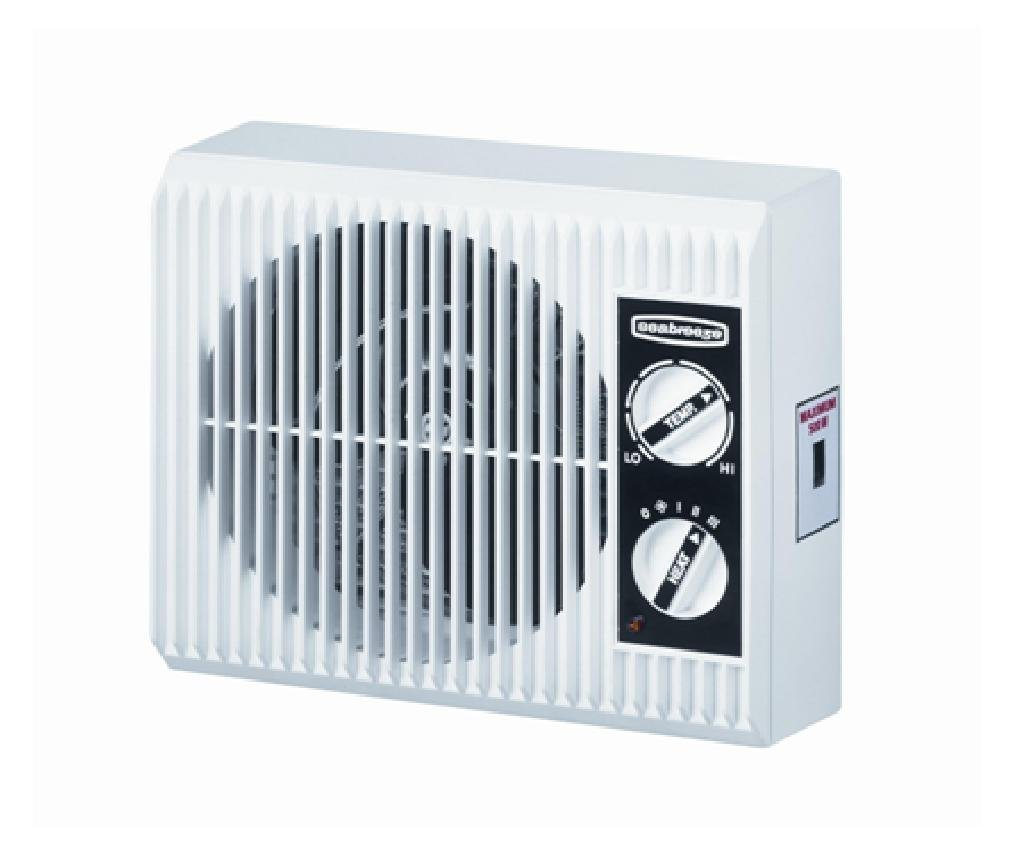 Seabreeze SF12ST Off the Wall 1500w Outlet Mountable Bed-Bathroom Heater with Energy Saving