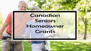 Canadian Seniors Homeowner Grants (2018)